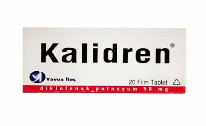 kalidren 50 mg nedir ne ise yarar