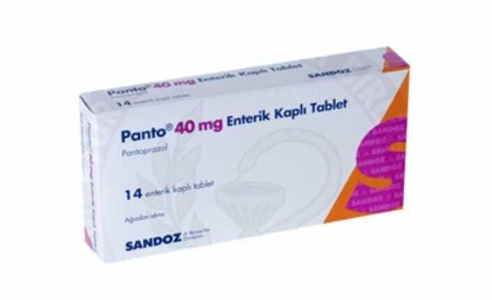 panto 40 mg tablet nedir ne Ise yarar