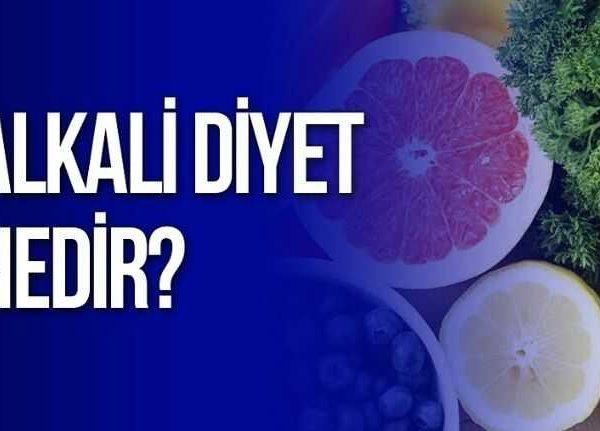 alkali diyet nedir nasil yapilir
