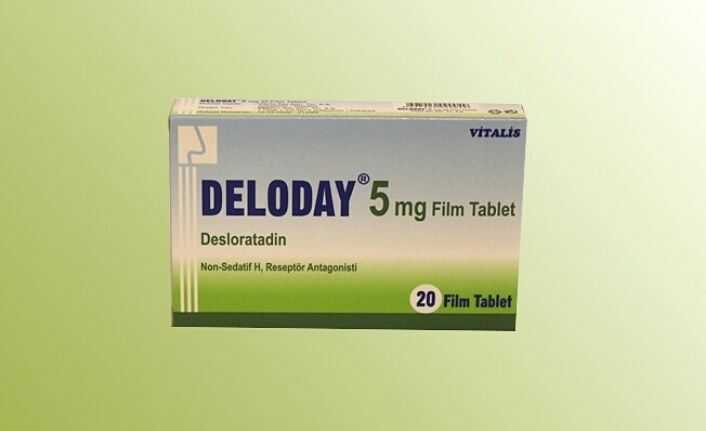 deloday 5 mg film tablet ne Ise yarar