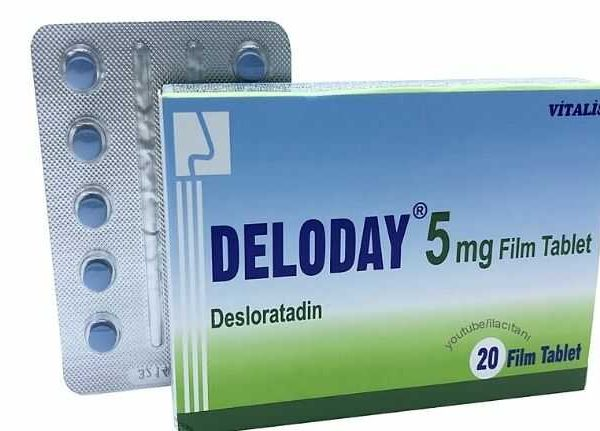 deloday 5 mg film tablet ne Ise yarar