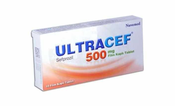ultracef 500 mg nedir ne Ise yarar