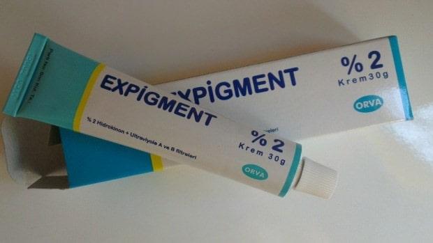 Expigment kullanımı