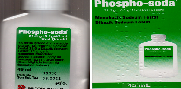 phospho soda kullanimi